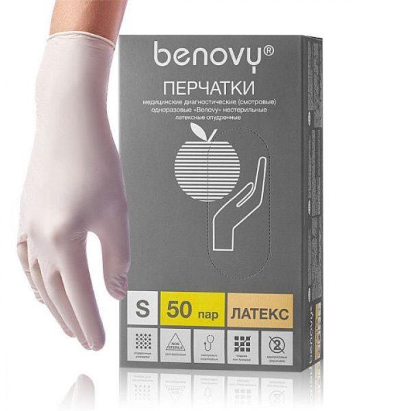 benovi-perchatki-smotrovye-lateksnye-nesterilnye-neopudrennye-r-s-n50-720×720