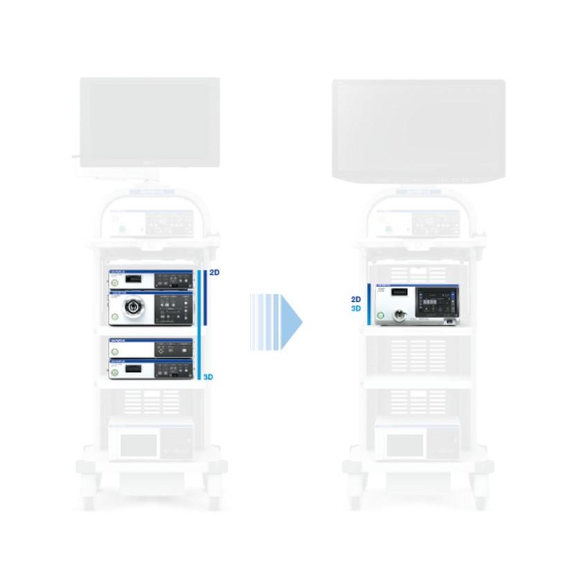 Olympus Visera Elite II - Видеоинформационный центр