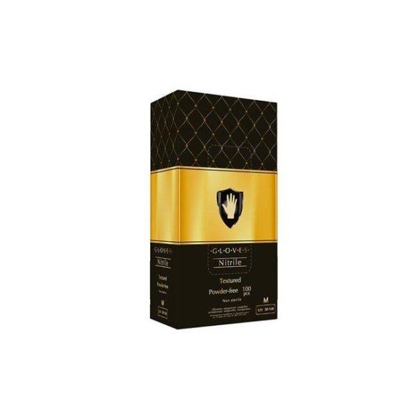 Перчатки нитриловые черные Safe&Care LN 31-58