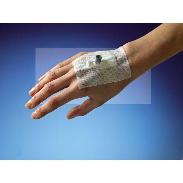 Защитная фиксирующая повязка для перефирической венозной канюли с портом Niko-Fix — ConvaTec